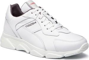 Buty sportowe Togoshi w sportowym stylu ze skóry ekologicznej