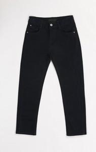 Czarne spodnie dziecięce born2be dla chłopców