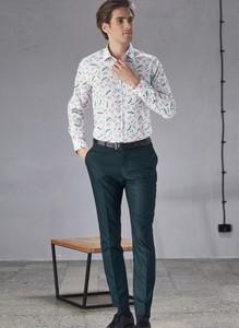 Zielone spodnie Pako Lorente
