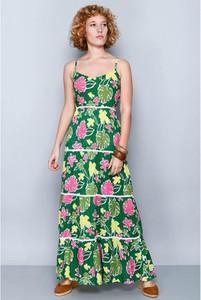 Sukienka H.H.G. bez rękawów z okrągłym dekoltem