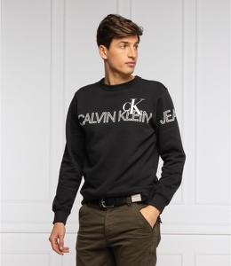 Czarna bluza Calvin Klein w młodzieżowym stylu