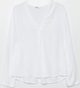 Bluzka Cropp z dekoltem w kształcie litery v