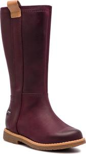 Buty dziecięce zimowe Clarks z nubuku