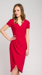 Sukienka VISSAVI z krótkim rękawem