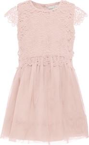 Różowa sukienka dziewczęca Name it z tiulu
