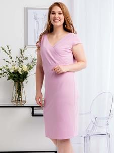 Sukienka KARKO kopertowa