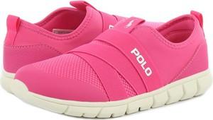 Buty sportowe dziecięce POLO RALPH LAUREN na rzepy dla dziewczynek