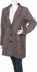 Brązowy płaszcz Made in Italy w stylu casual