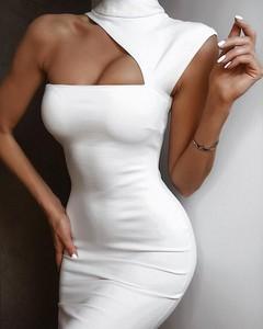 Sukienka Billion Ladies z golfem mini dopasowana