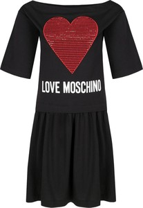Sukienka Love Moschino w stylu casual mini