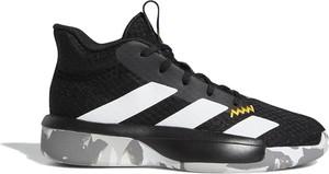 Buty sportowe dziecięce Adidas ze skóry sznurowane w paseczki