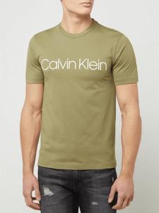 T-shirt Calvin Klein w młodzieżowym stylu z bawełny