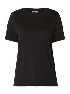 Bluzka Pieces z bawełny w stylu casual z krótkim rękawem
