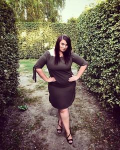 Brązowa sukienka tono.sklep.pl hiszpanka oversize