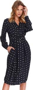 Sukienka Top Secret z długim rękawem koszulowa w stylu casual