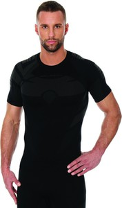 Czarna koszulka Brubeck z dzianiny