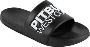 Czarne buty letnie męskie Pit Bull