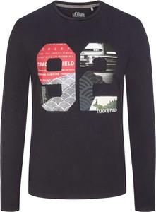 Bluza S.Oliver z nadrukiem z bawełny