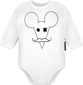 Body niemowlęce Trickyforms z bawełny