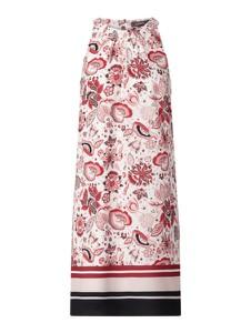 Sukienka Montego z okrągłym dekoltem mini