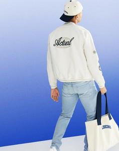 Kurtka Asos krótka z jeansu