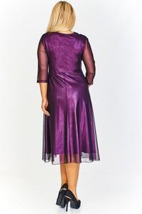 Fioletowa sukienka Nubile