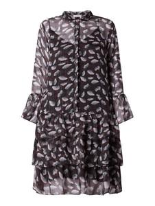 Sukienka Neo Noir w stylu casual z długim rękawem mini