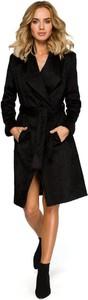 Czarny płaszcz Merg
