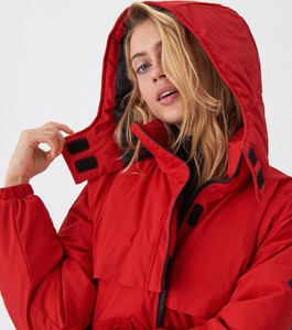 Czerwona kurtka House krótka w stylu casual