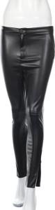 Czarne legginsy ZARA w stylu casual