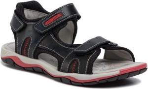 Czarne buty dziecięce letnie Lasocki Young