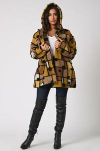 Płaszcz Plus Size Fashion w stylu casual