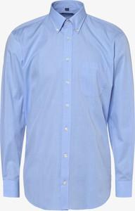 Niebieska koszula Mc Earl z długim rękawem