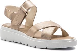 Sandały Geox w stylu casual na rzepy