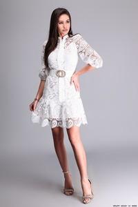 Sukienka Of White