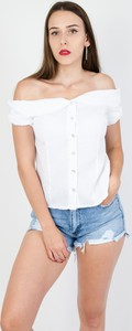 Bluzka Olika z krótkim rękawem hiszpanka