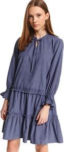 Sukienka Top Secret w stylu casual mini koszulowa
