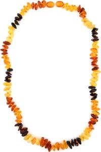 Ambertic-em Naszyjnik z bursztynem w czterech kolorach