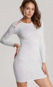 Sukienka Renee z długim rękawem mini w stylu casual
