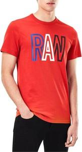 T-shirt G-star z krótkim rękawem z bawełny w młodzieżowym stylu