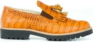 Półbuty Zapato ze skóry