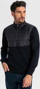 Czarny sweter Boris Becker z wełny