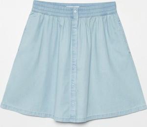 Spódnica Cropp mini z jeansu w stylu casual
