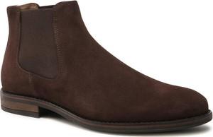 Brązowe buty zimowe Ryłko