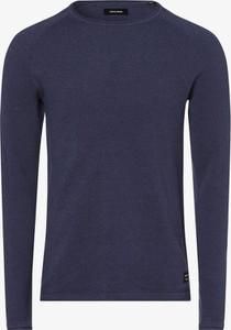 Niebieski sweter Jack & Jones z bawełny