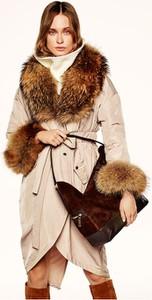 Brązowa kurtka Ochnik z tkaniny