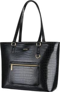 Czarna torebka PUCCINI na ramię duża