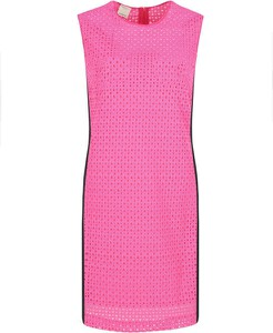 Sukienka Pinko bez rękawów z okrągłym dekoltem midi