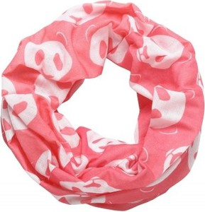 Różowy szalik dziecięcy Finmark