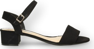 Czarne sandały Moleca